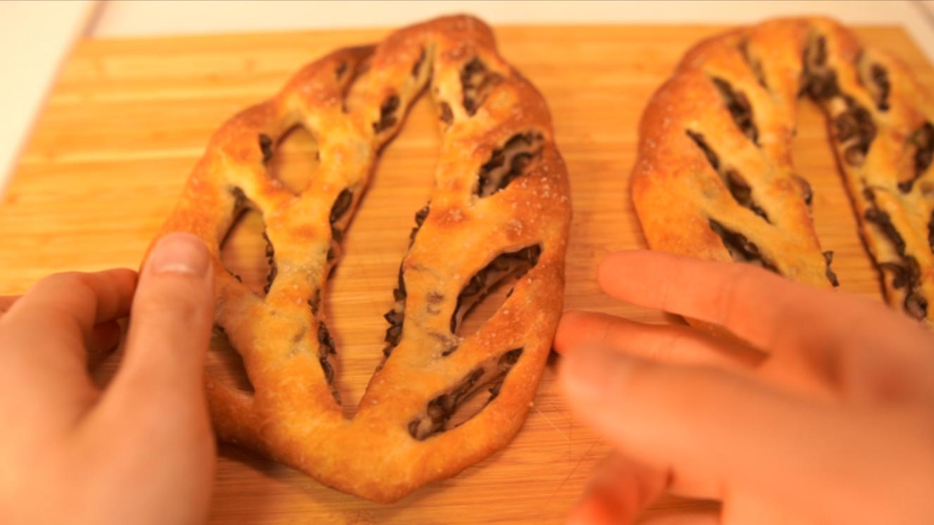 フーガスの作り方(最強のおつまみパン)