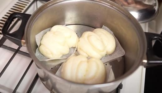 中華蒸しパン(中華まんの皮)のレシピを紹介